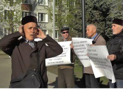 В Казани аксакалы вышли на защиту татарского языка (ВИДЕО)