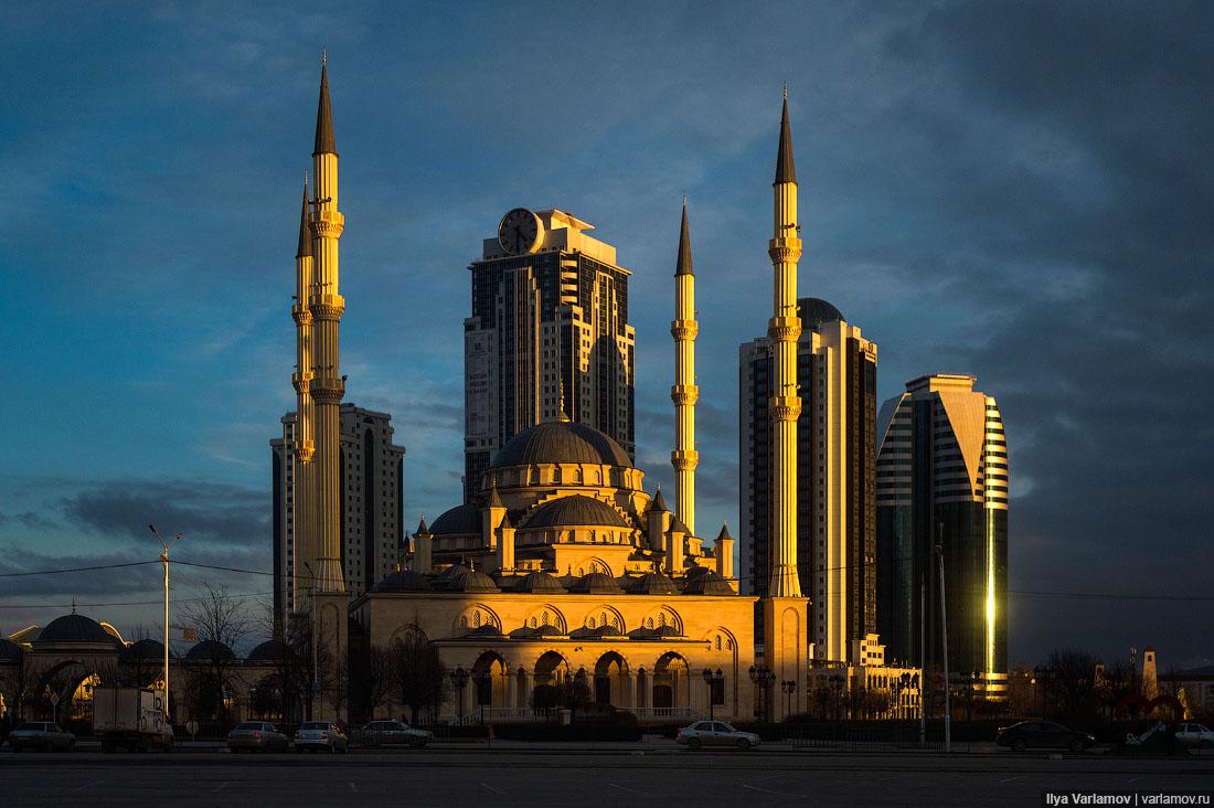 Столица Чечни - Грозный