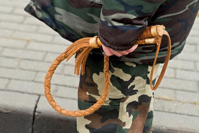 Суд признал казака, хлеставшего нагайкой митингующих, мелким хулиганом