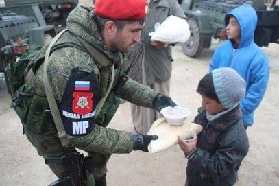 Батальон военной полиции вернулся из Сирии в Чечню