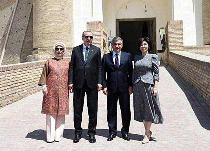 Мирзиёев и Эрдоган почтили память суфийского наставника