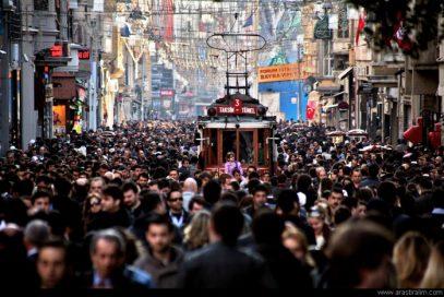 Россиянам рекомендовали не появляться в центре Стамбула