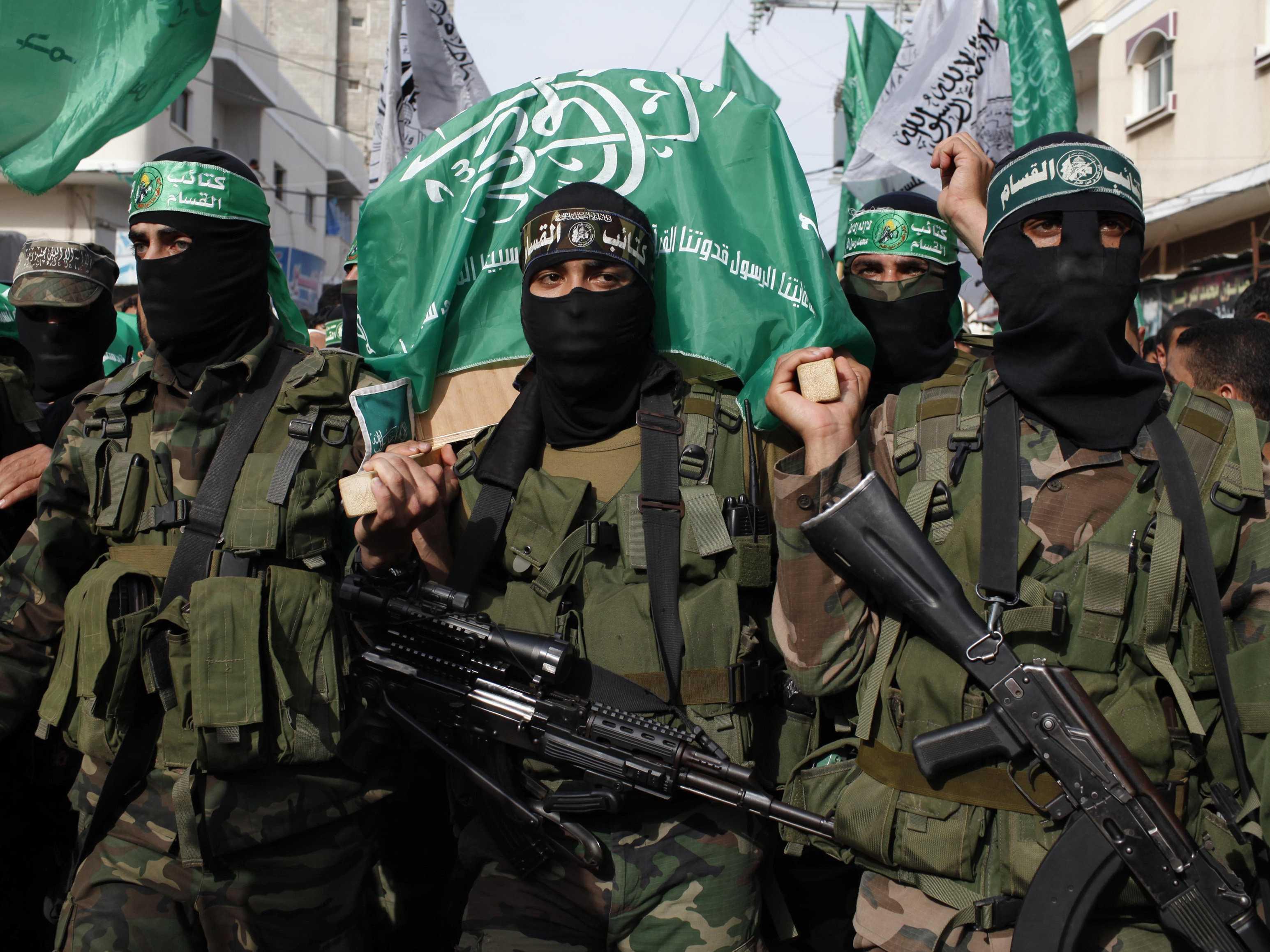 Бойцы ХАМАС