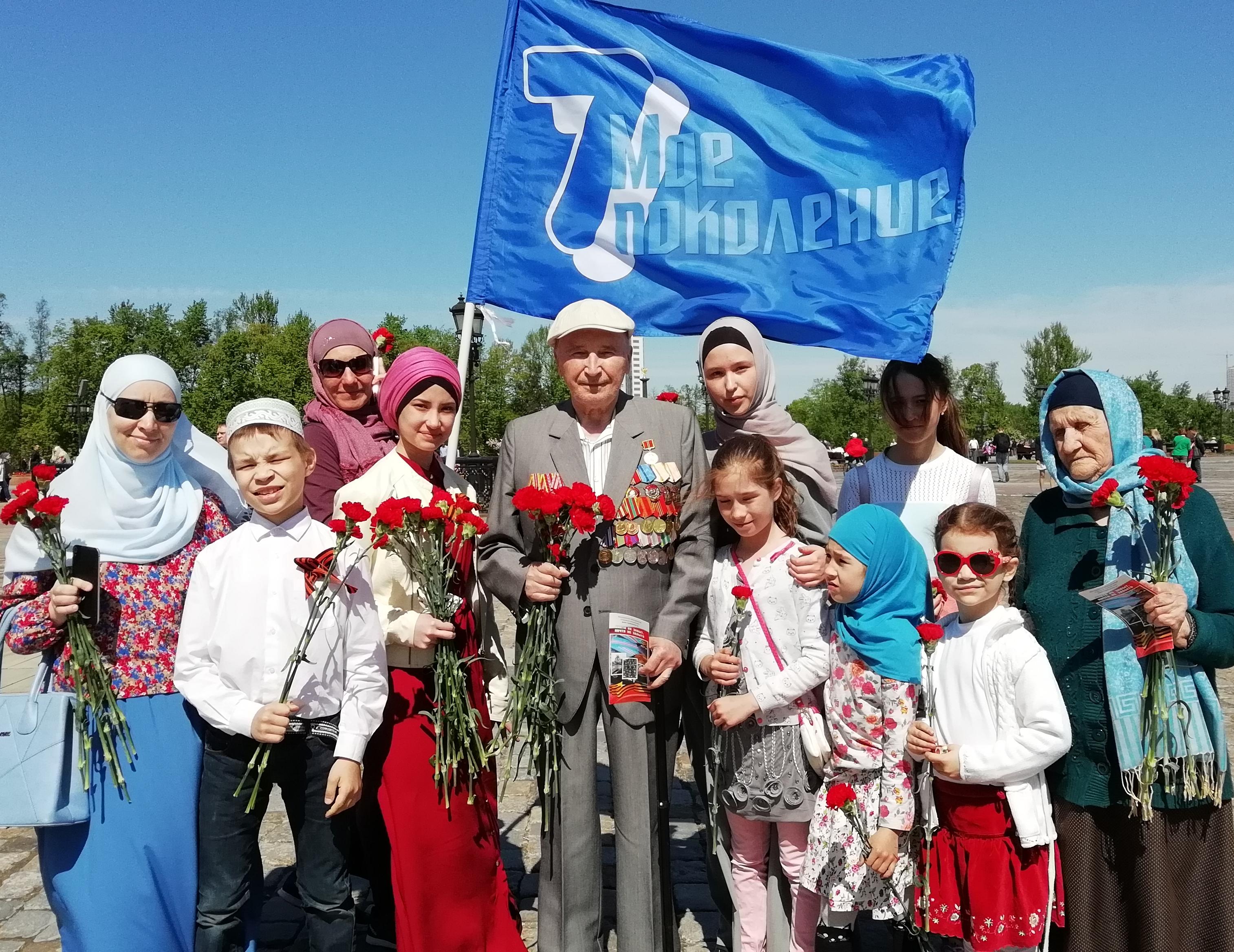 Молодое поколение мусульман Москвы встретились со своими героями