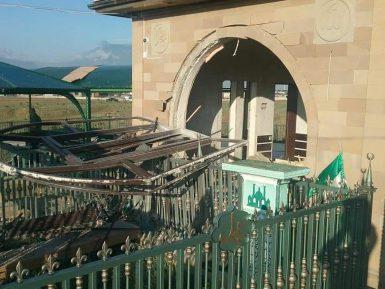 В Дагестане взорвали могилу шейха Саида Афанди
