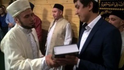 Отстраненный Гайнутдином муфтий открыл новую мечеть (ФОТО)
