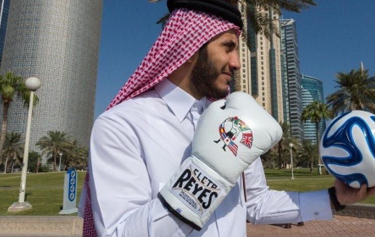 Настоящий шейх выйдет на боксерский ринг в Астане