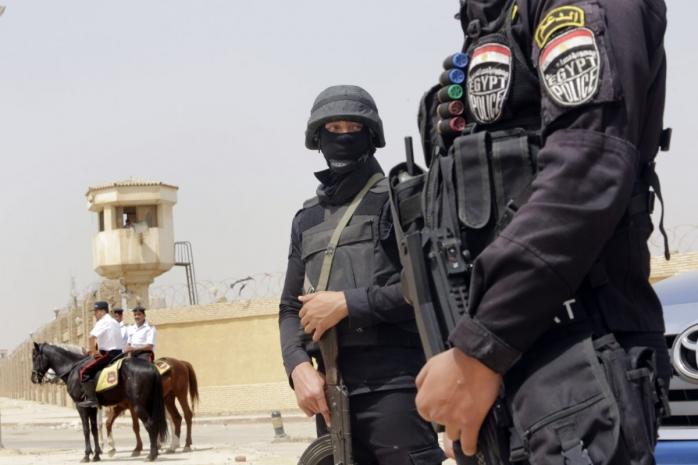 Сотрудники египетских спецслужб