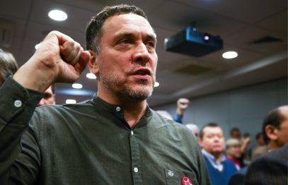 Максим Шевченко победил на праймериз по выбору кандидатов в мэры Москвы от левых сил