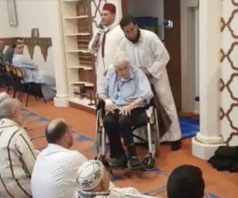 Выживший при Холокосте еврей принял ислам в столичной мечети (ВИДЕО)