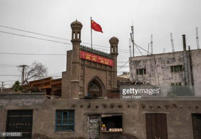 В Китае на всех мечетях будут вывешивать государственные флаги