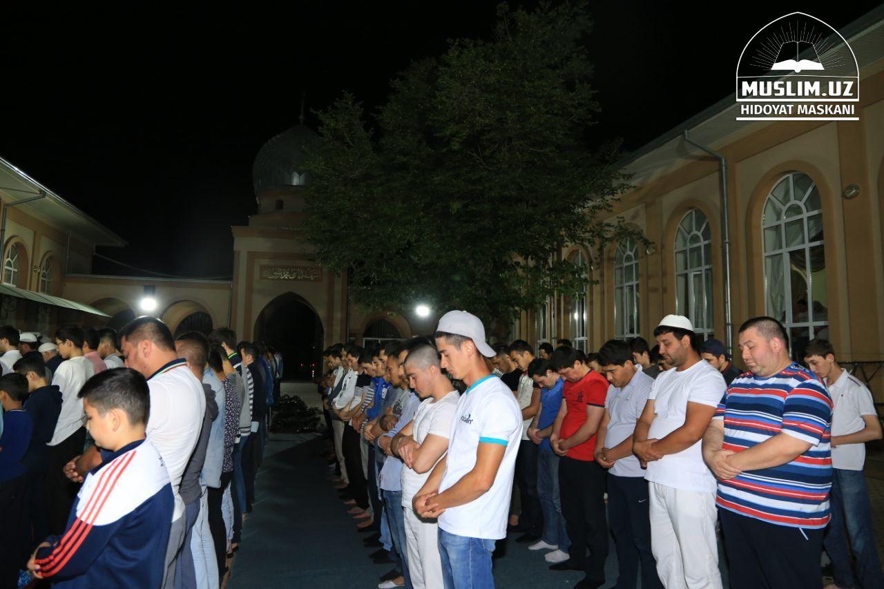Таравих в ташкентской мечети