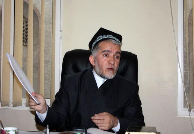 Глава Совета улемов Таджикистана муфтий  Саидмукаррам Абдукодирзода