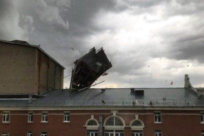 Татарстан понес жертвы из-за урагана (ВИДЕО)