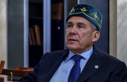 Рустам Минниханов поздравил жителей Татарстана с Днем принятия ислама