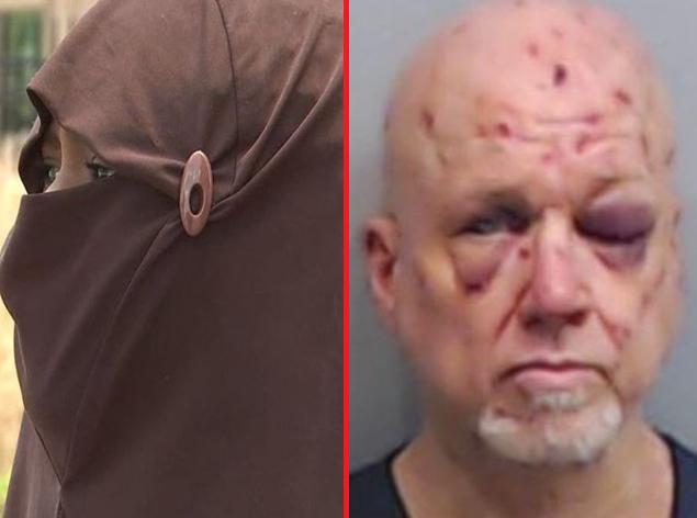 """Мужчина напал на мусульманку с криком """"я Иисус"""" и пожалел обо всем на свете"""