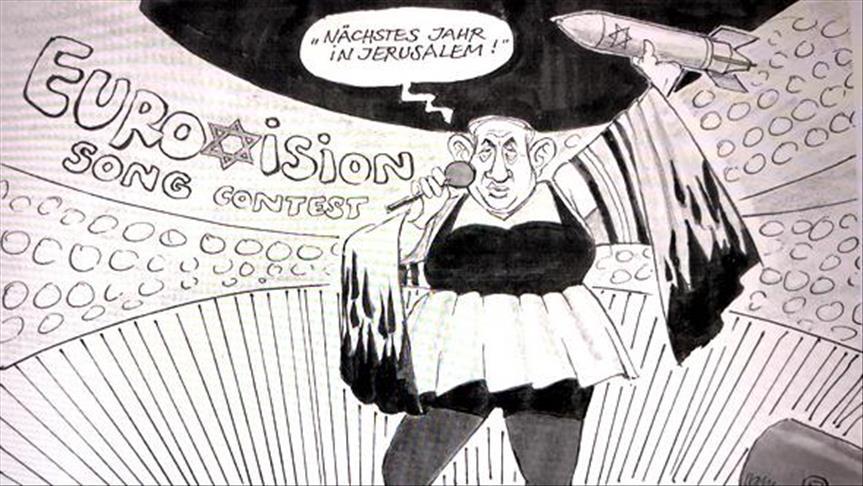 Крикатура на израильского премьера