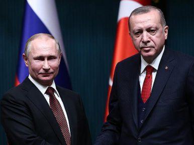 Эрдоган и Путин обсудили кровавые события в Палестине