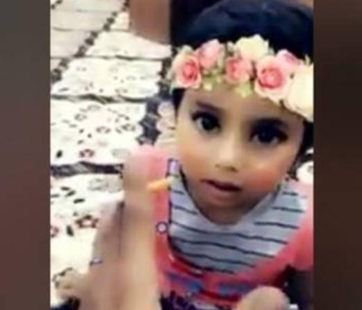 Саудовец поплатится за вопиющие действия с 2-летней дочкой (ВИДЕО)