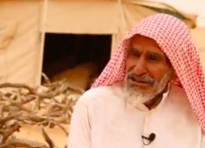 100-летний саудовец, живущий в пустыне ради возлюбленной, взорвал соцсети (ВИДЕО)