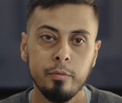 Кадр из последнего видео Али