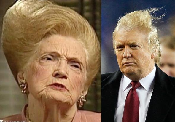 Мать Трампа Мэри