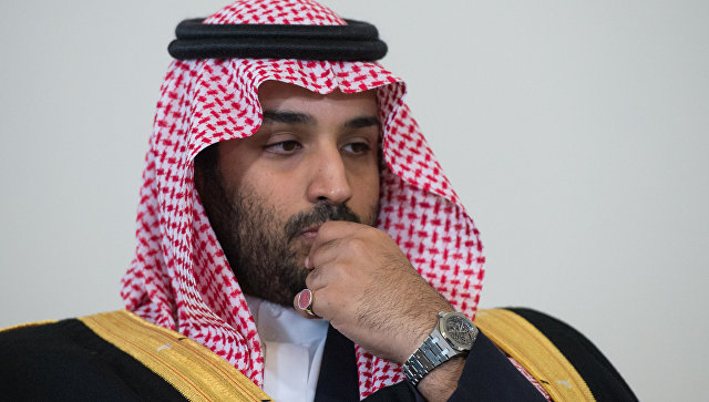 Принц Саудовской Аравии эмоционально наблюдал за поражением своей команды