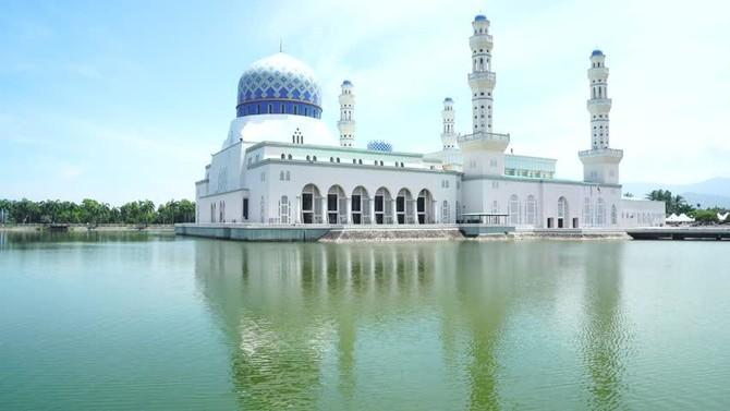 Мечеть в Кота-Кинабалу