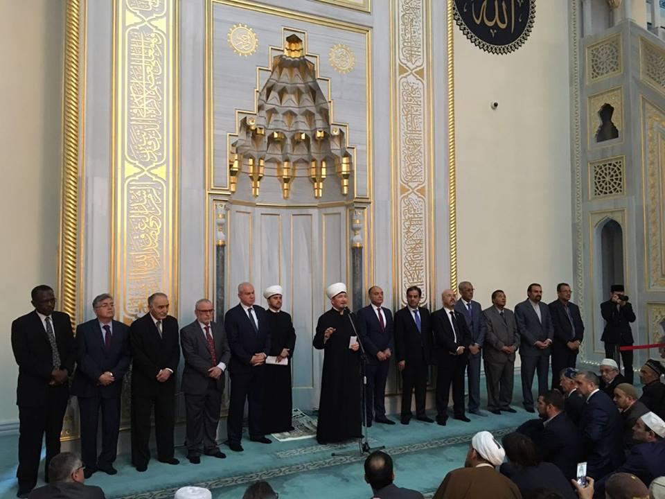 В главной мечети России озвучили позицию мусульман по Иерусалиму