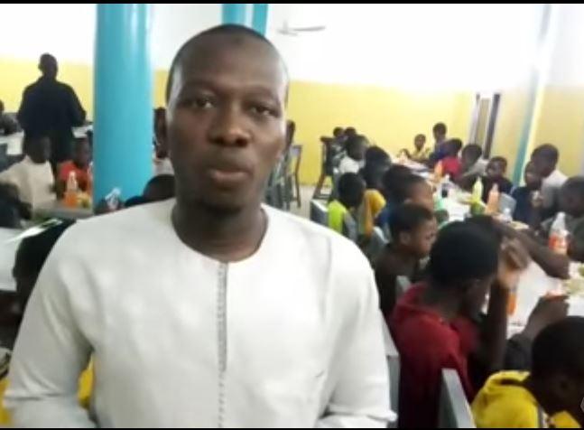 Ифтар в детском приюте Нигера