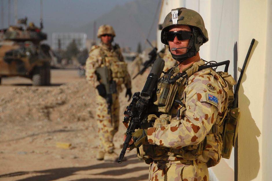 Австралийские военные в Афганистане