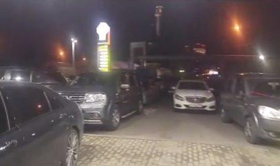 Мусульмане заблокировали бензозаправку у мечети в Москве (ВИДЕО)