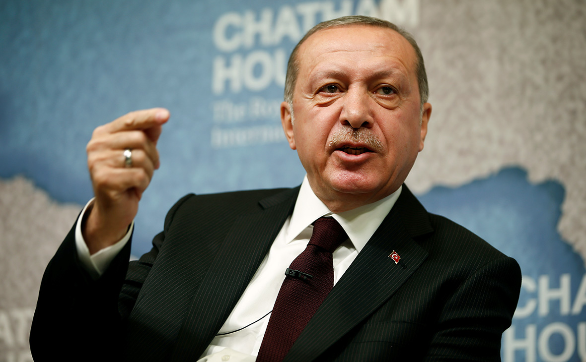 Реджеп Тайип Эрдоган (Фото: Henry Nicholls / Reuters)