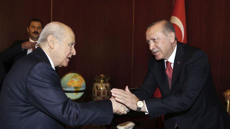 Бахчели и Эрдоган
