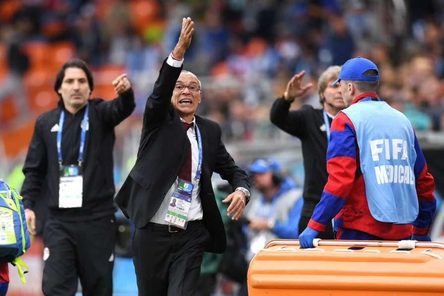 Негодующий тренер сборной Египта
