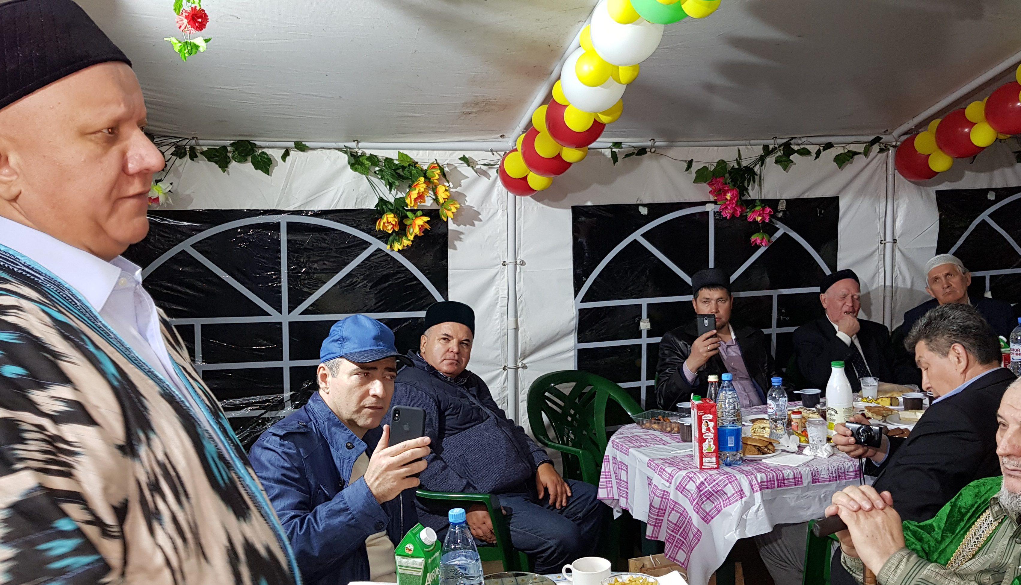 В Москве прошел ифтар татарской и башкирской молодежи