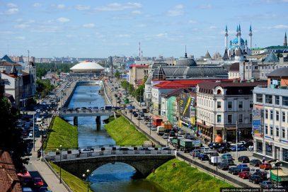 Совершена самая необычная поездка в Казань
