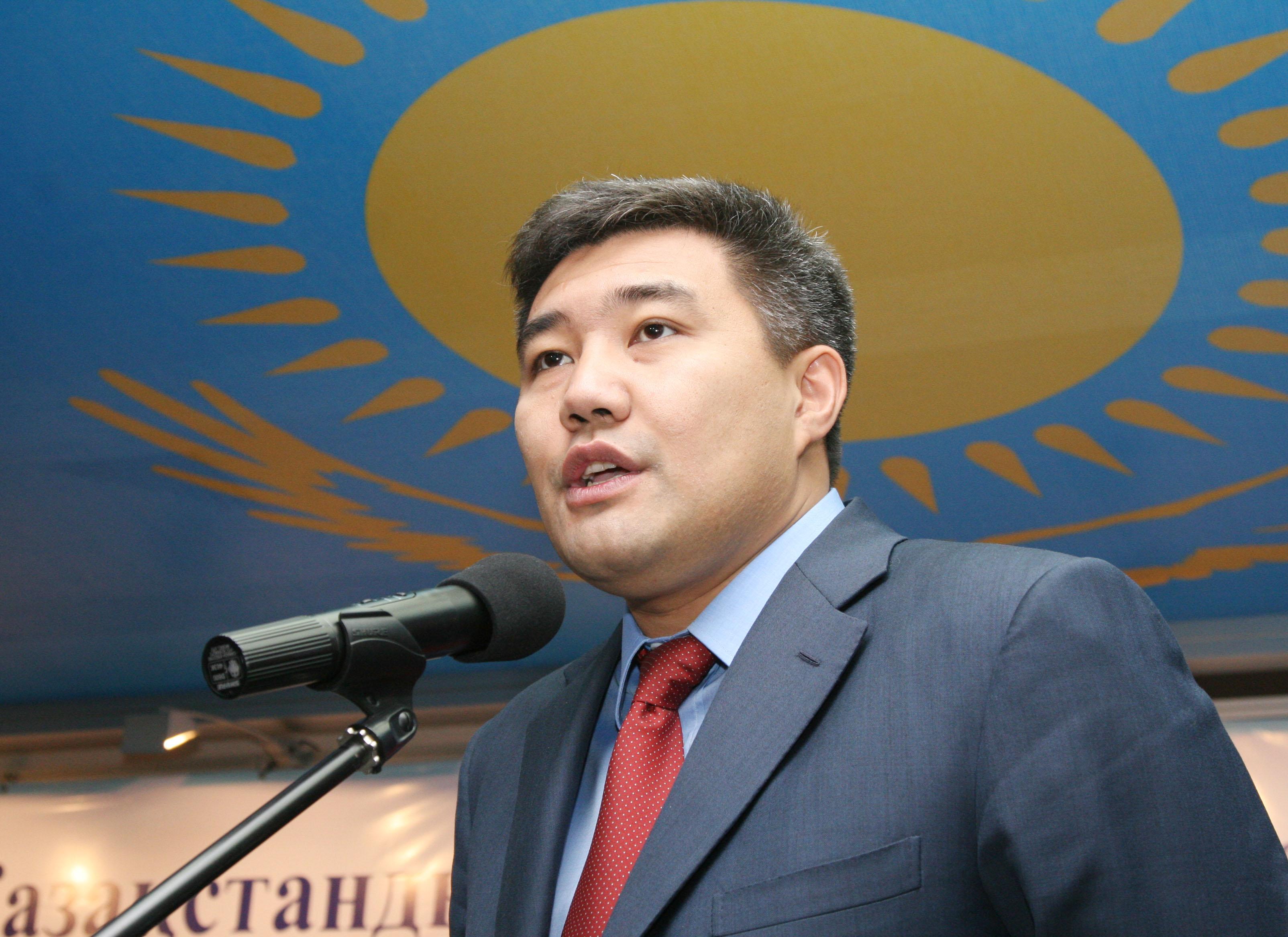 На фото: министр по делам религий и гражданского общества Казахстана Дархан Калетаев