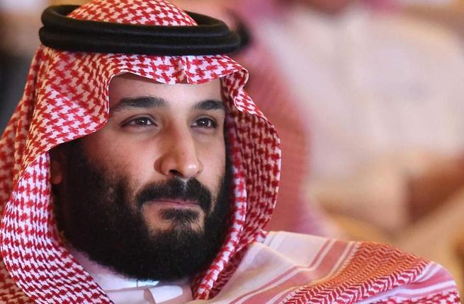 На фото: Наследный принц Мухаммад бин Салман