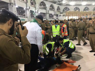 В Заповедной мечети Мекки совершено самоубийство (ВИДЕО)