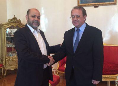 Делегация ХАМАС провела переговоры в Москве