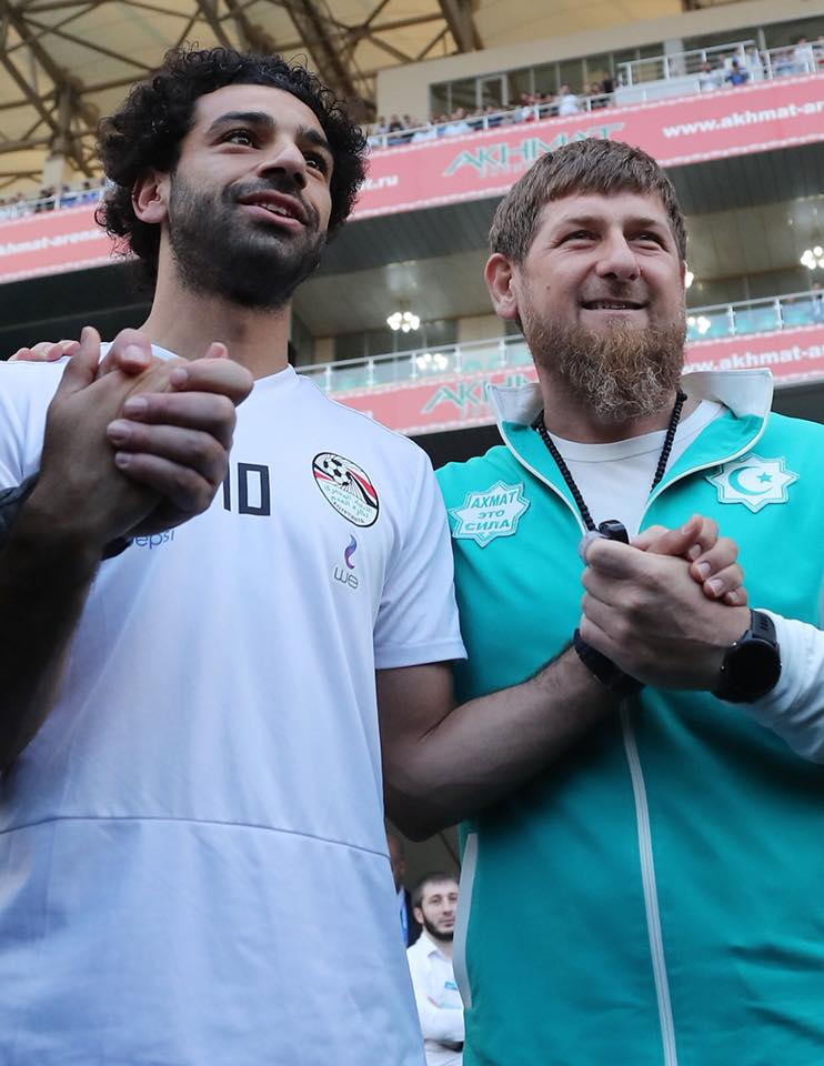 Кадыров с Салахом