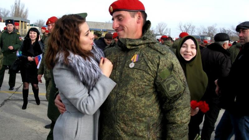 Российские военные полицейские