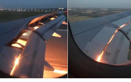 Самолет с саудовскими футболистами загорелся по пути в Ростов (ВИДЕО)