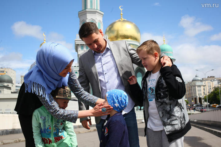 В Москве на праздничный намаз ожидается около 250 тыс. мусульман