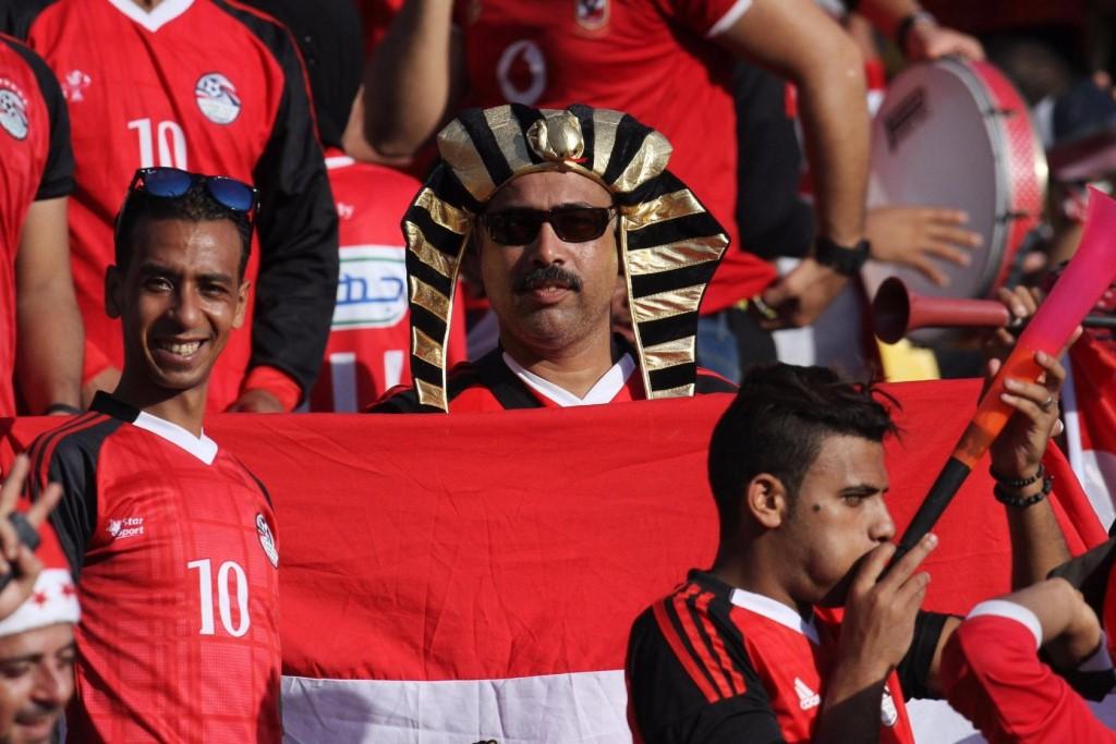 Египетские болельщики