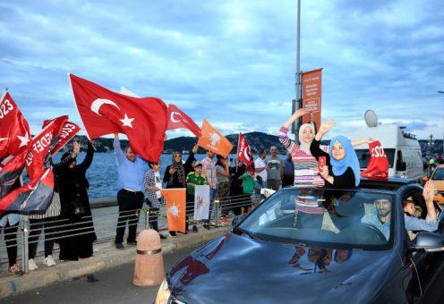 В Турции празднуют победу Эрдогана