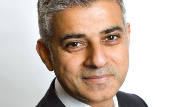 Действующий мэр Лондона Садык-хан