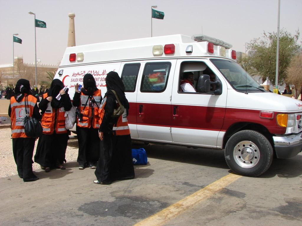Экстренные службы в Саудовской Аравии обрели женское лицо