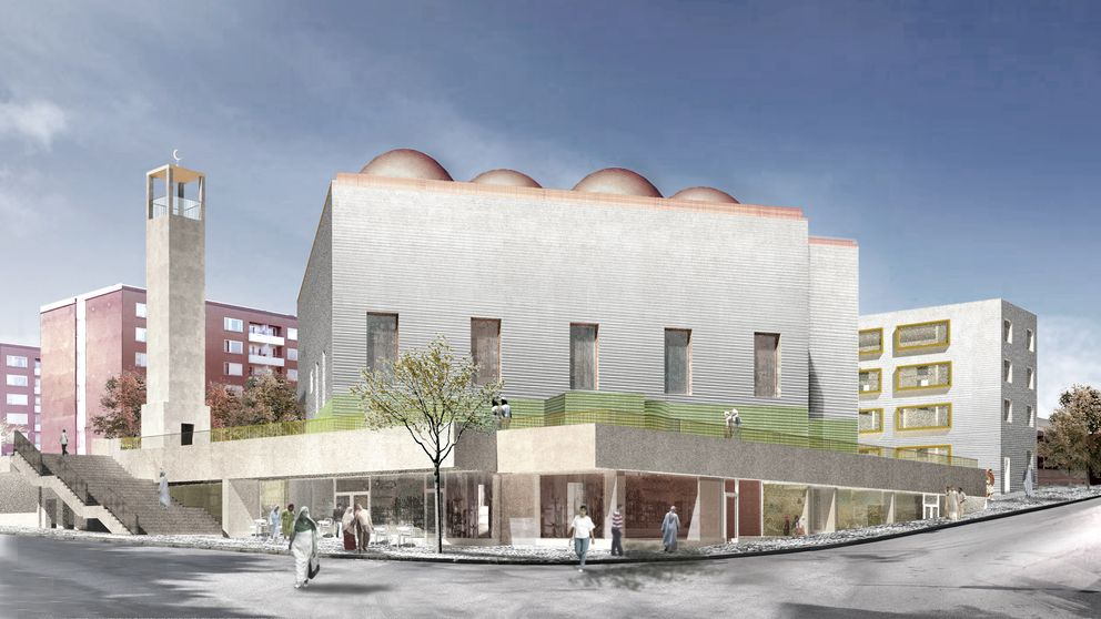 Проект исламского центра в Стокгольме